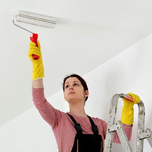 راهنمای رنگ آمیزی سقف